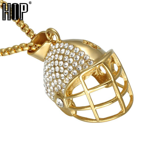 Rugby/American Football necklace