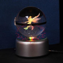 Crystal 3D Pokeball