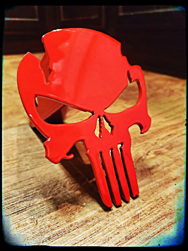 Punisher Hitch Cover Warrior Edition