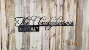 Customized Wedding or Anniversary