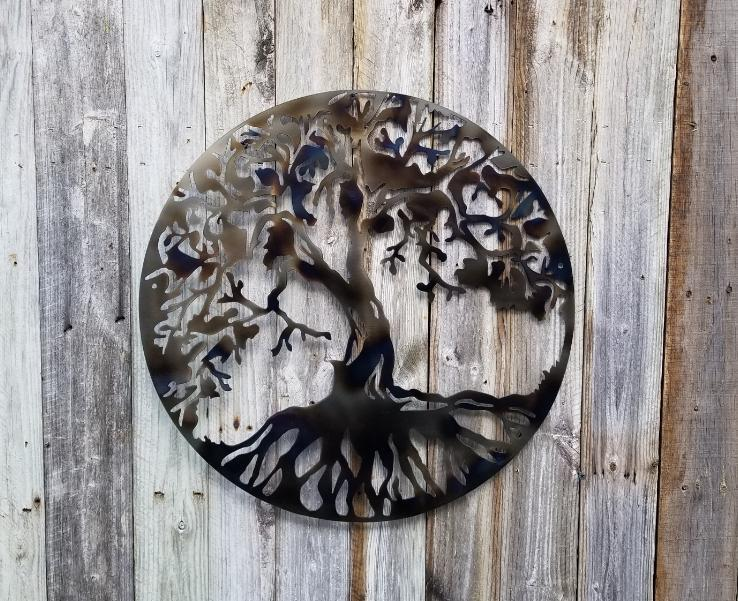 Tree of Life Custom Finish