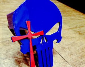 Punisher Sniper Style Hitch Cover