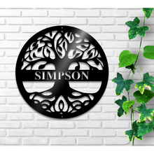 Custom Tree of Life Monogram
