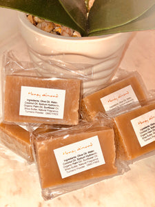 PETITE TURMERIC & HONEY ALMOND SOAP BAR