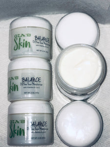 BALANCE Oil-Free Face Moisturizer made with Sage, Watercress, Vitamin A, E, & C