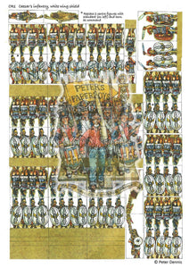 White Wing Shield Infantry