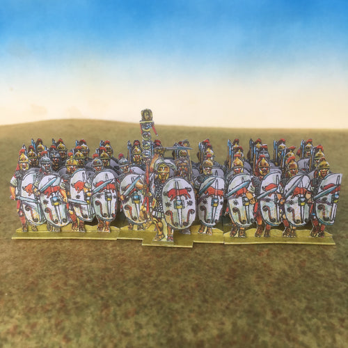 White Bull Shield Infantry