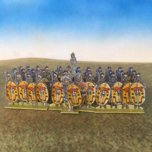 Yellow Bull Shield Infantry