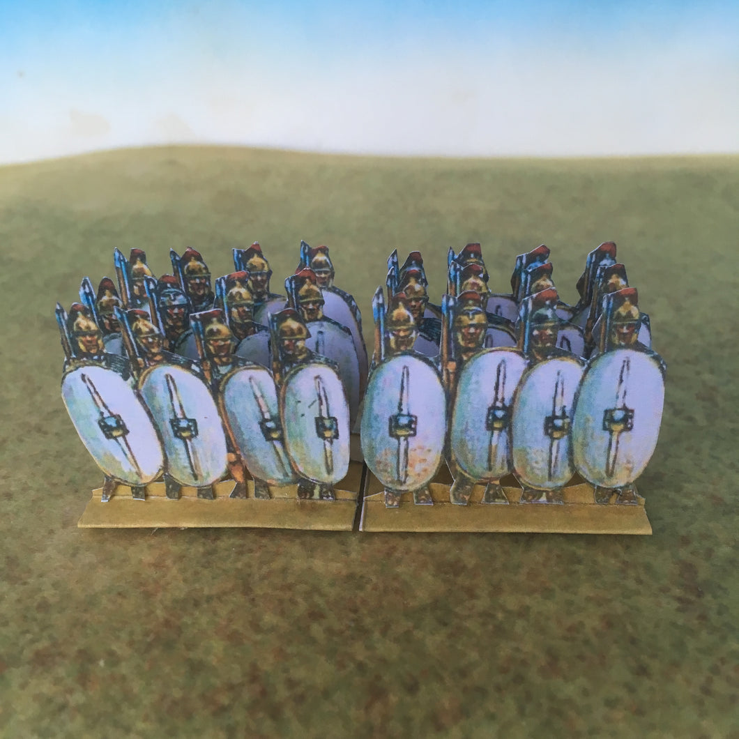 White Plain Shield Infantry