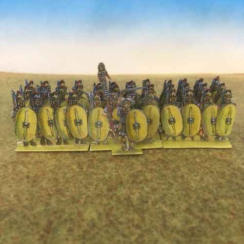 Yellow Plain Shield Infantry