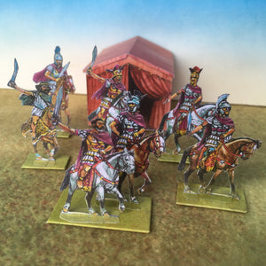 Roman and Allied mounted officers