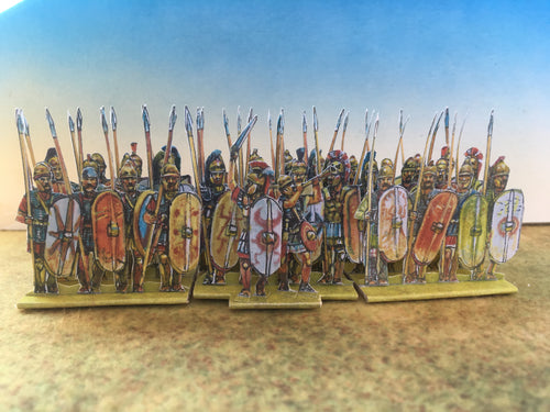 Hannibal's Veteran Heavy Infantry (Late Italian campaigns and Zama)