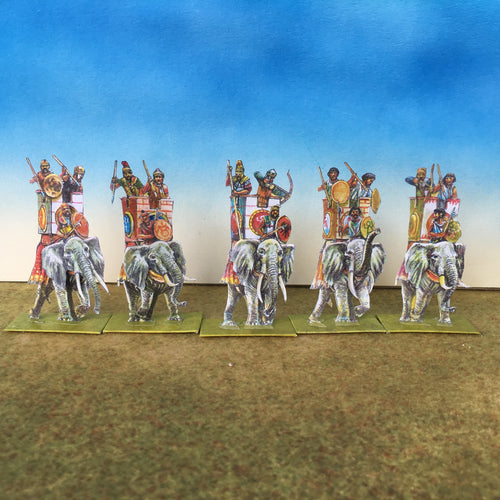 Carthaginian African Elephants (From the front)