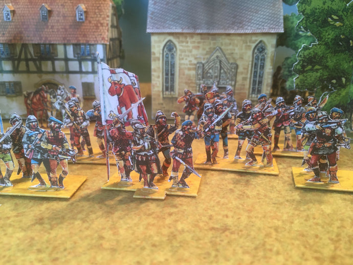 Flodden Campaign Armies 1513 (all sheets)