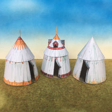Load image into Gallery viewer, Late Medieval Tents & Commander's Tent