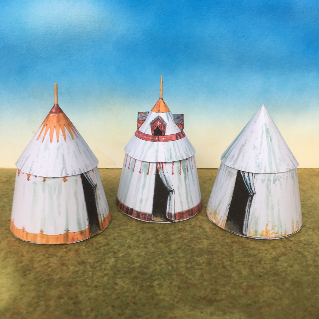 Late Medieval Tents & Commander's Tent
