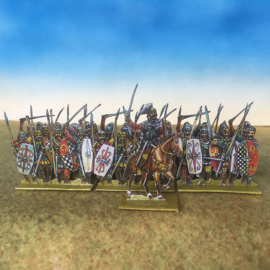Gallic Armoured Infantry (also in Rome's enemies)