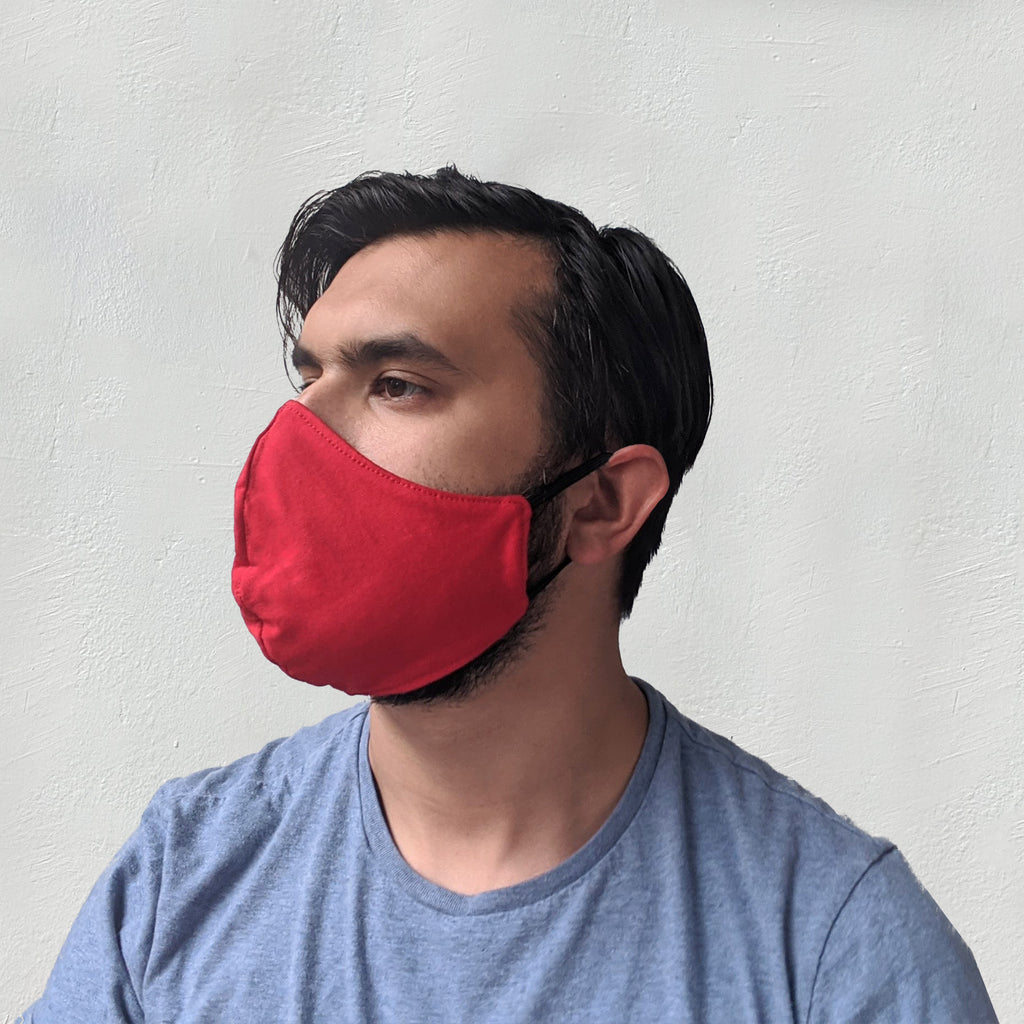 Face Mask - Cotton reversible with ear loops