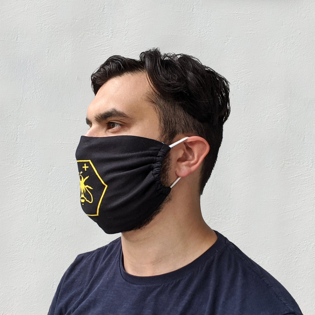 Face Mask - Be Positive with ear loops