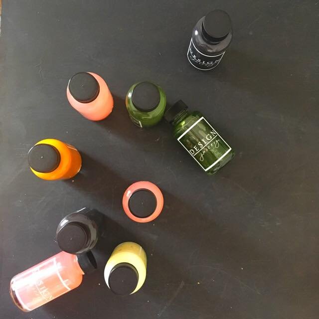 cold pressed wellness shots