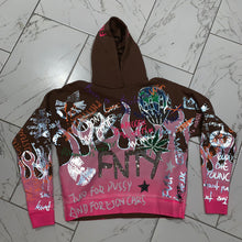 Load image into Gallery viewer, LA FLAME HOODIE