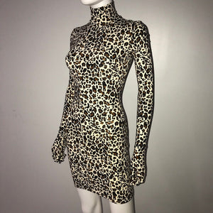 Leopard Styling Dress