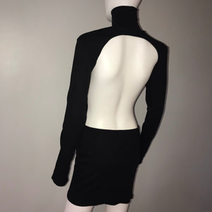 Turtleneck Backless Mini