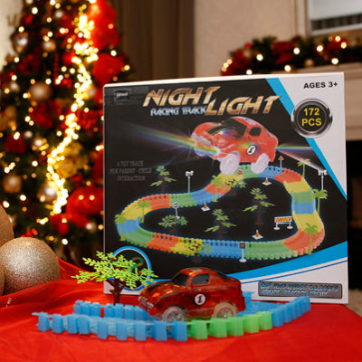 Night Light Racing Track