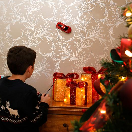 Wall-Climbing Remote Controlled Car