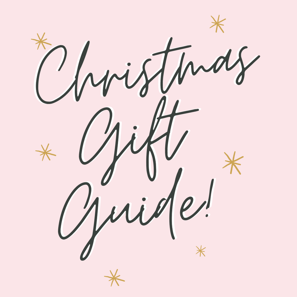 Our Christmas Shopping Gift Guide: a selection of our favourite, small businesses