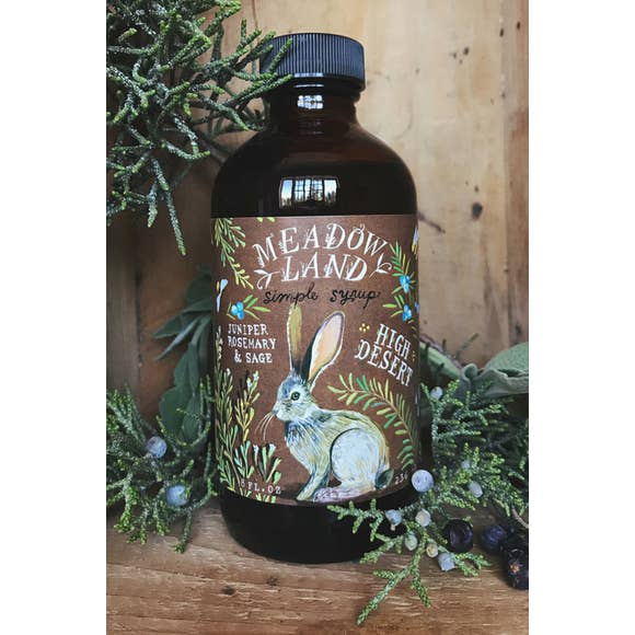 Meadowland Syrups: High Desert Simple Syrup