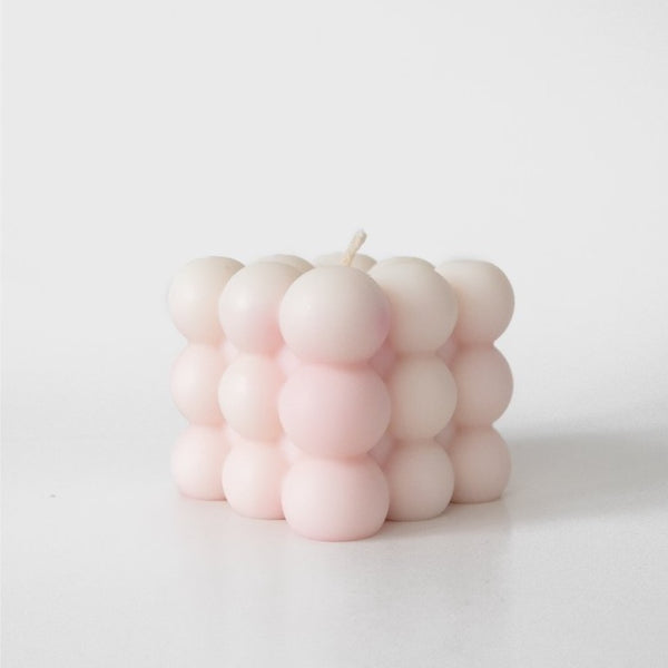 Cloud Candle in Just Peachy