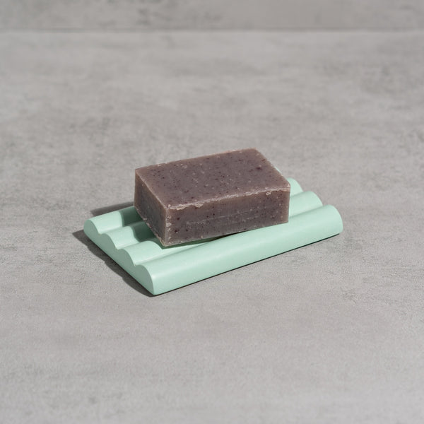 Yod & Co.: Soap Dish in Aqua