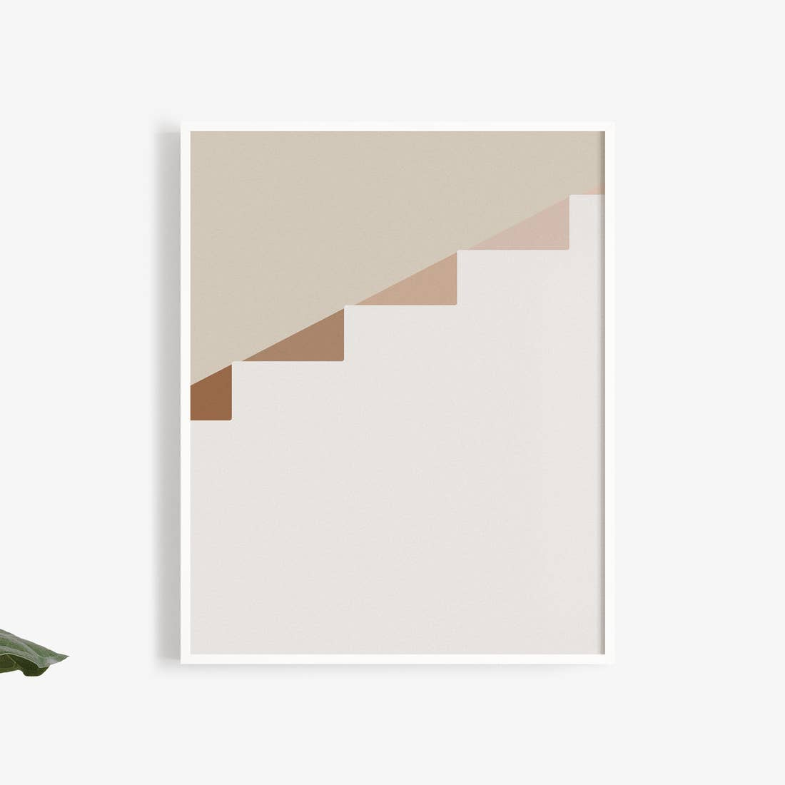 Buhlaixe Ornament: Stairs Art Print