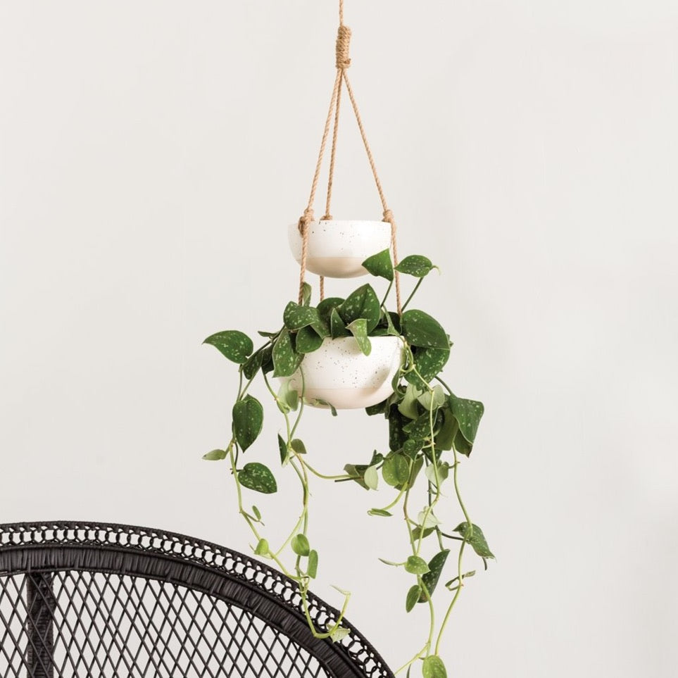 Double Layer Hanging Planter