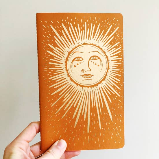 The Rainbow Vision: Sun Notebook