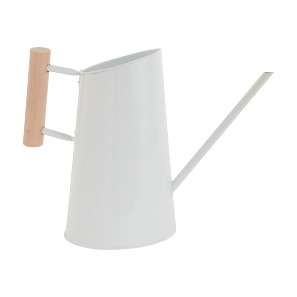 White Steel Watering Cans
