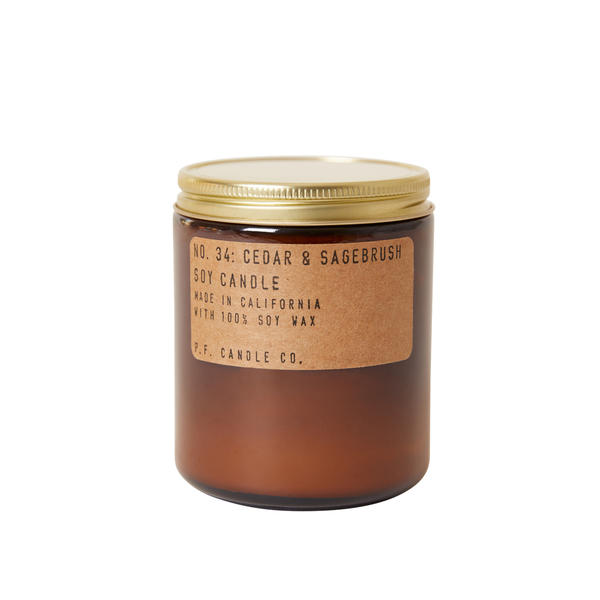 P.F. Candle Co.: Cedar & Sagebrush Soy Candle