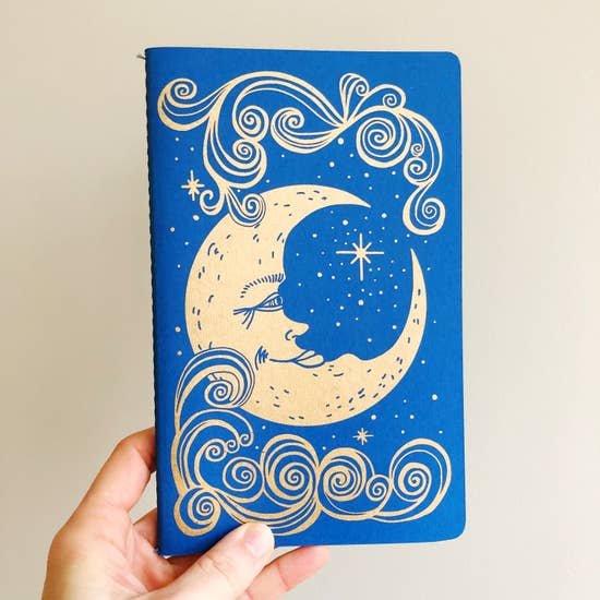 The Rainbow Vision: Moon Notebook