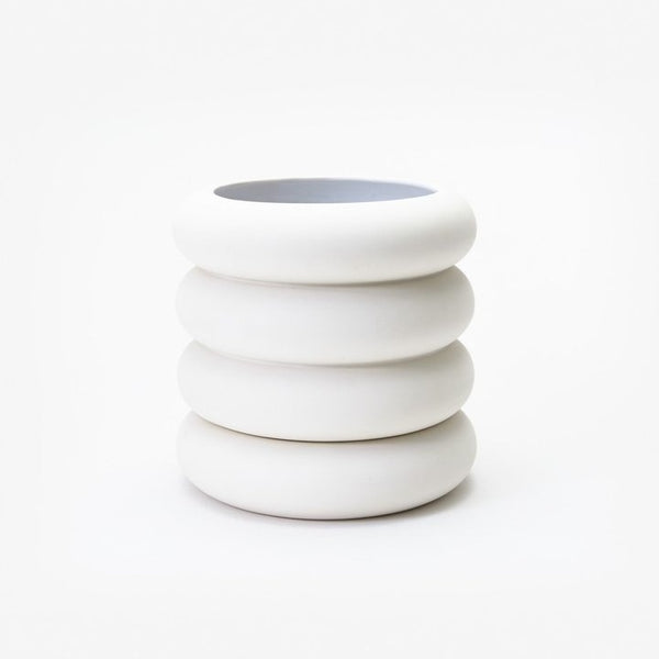 Areaware: Stacking Planter in White, Tall