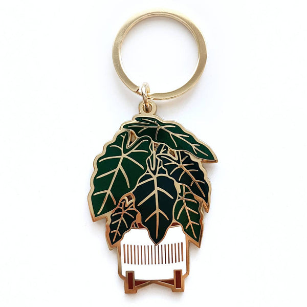 Paper Anchor Co: Alocasia Keychain
