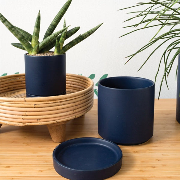 Rome Pot in Navy