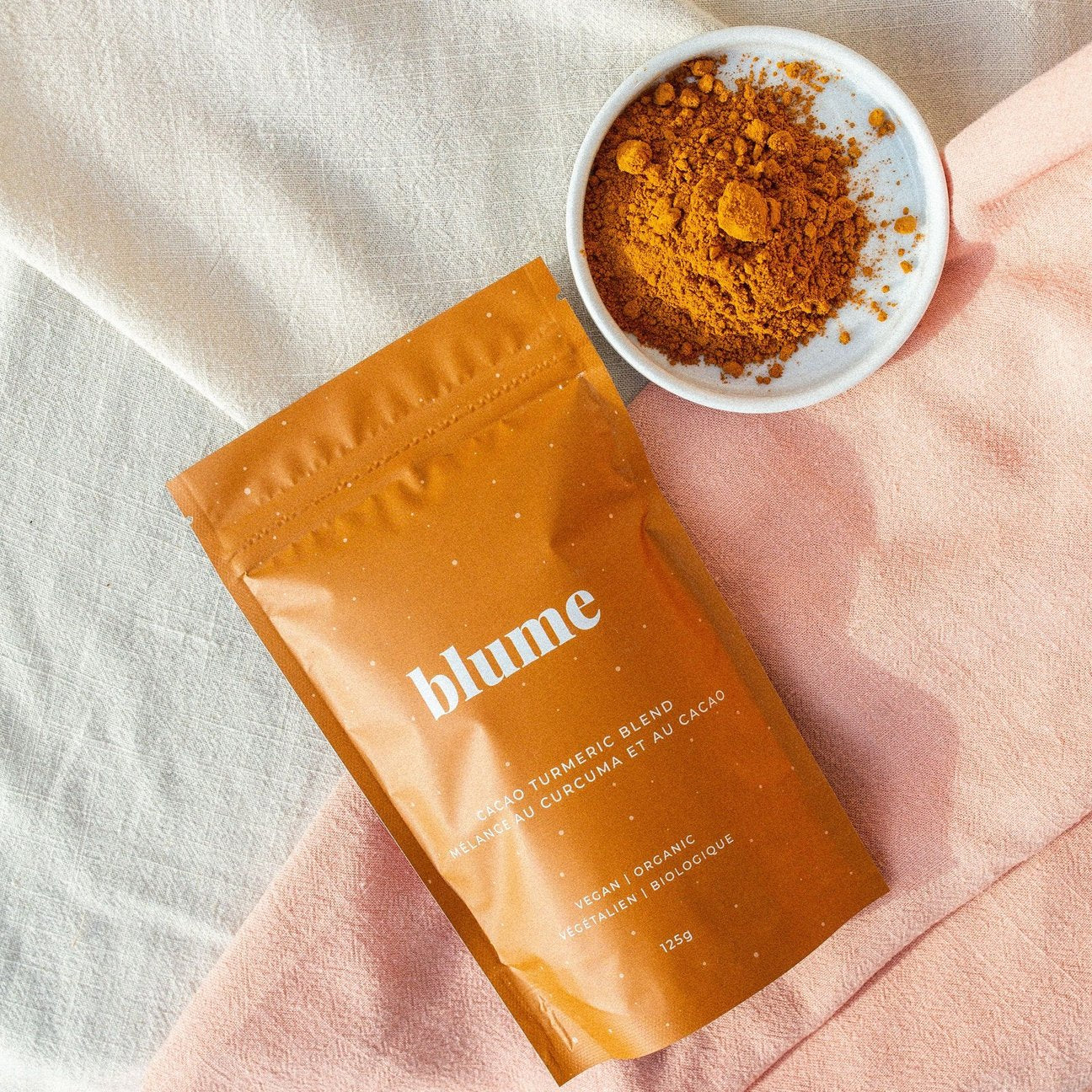 Blume: Cacao Turmeric Latte Blend