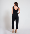Loup: Slate Coveralls in Black