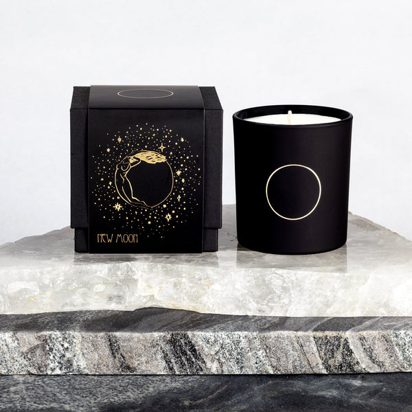 Deuxmoons: New Moon Candle