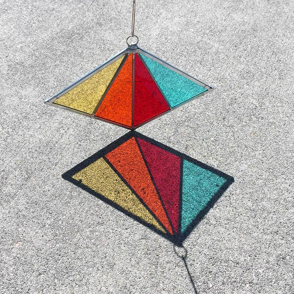 Debbie Bean: Diamond Suncatcher in Red