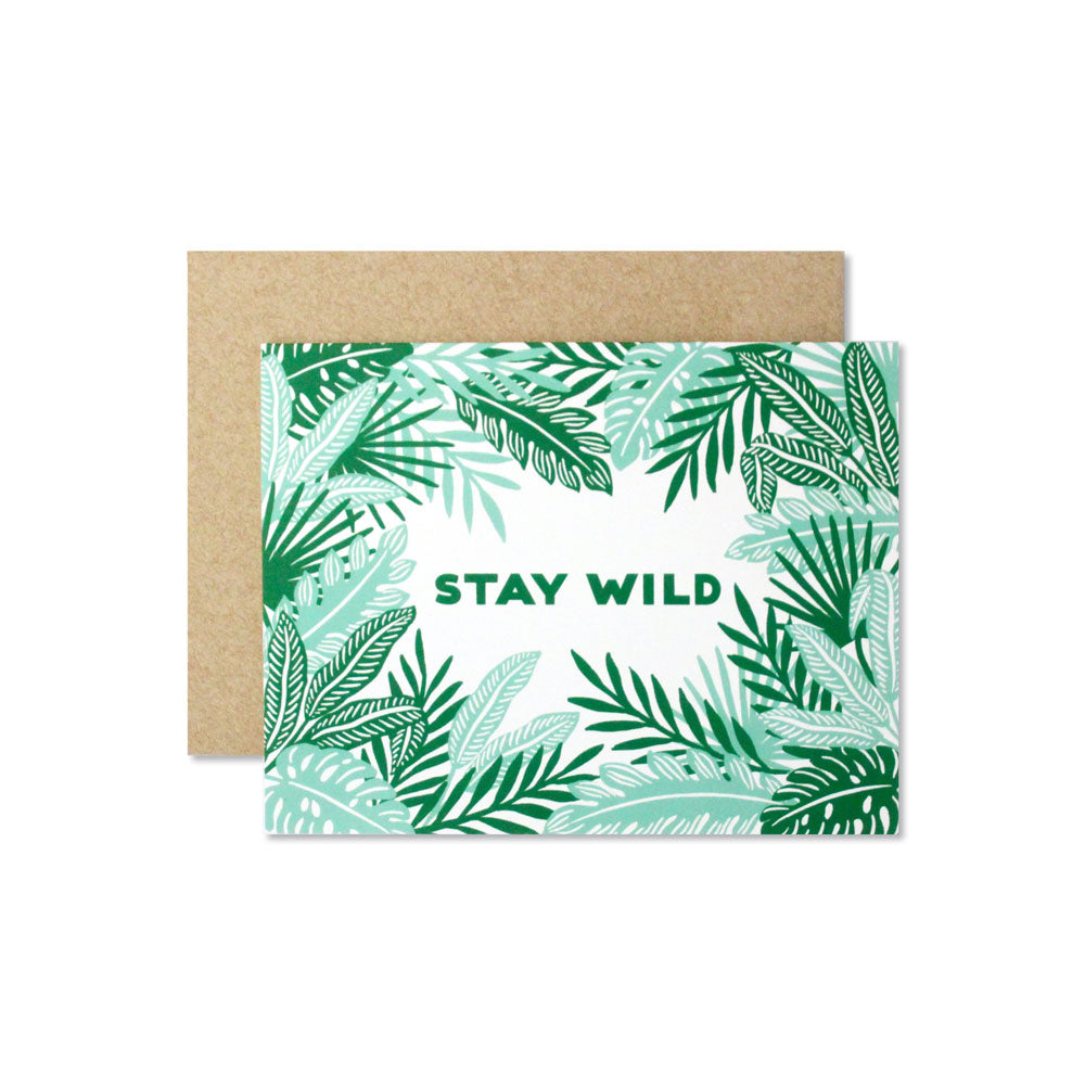 Stay Wild Card