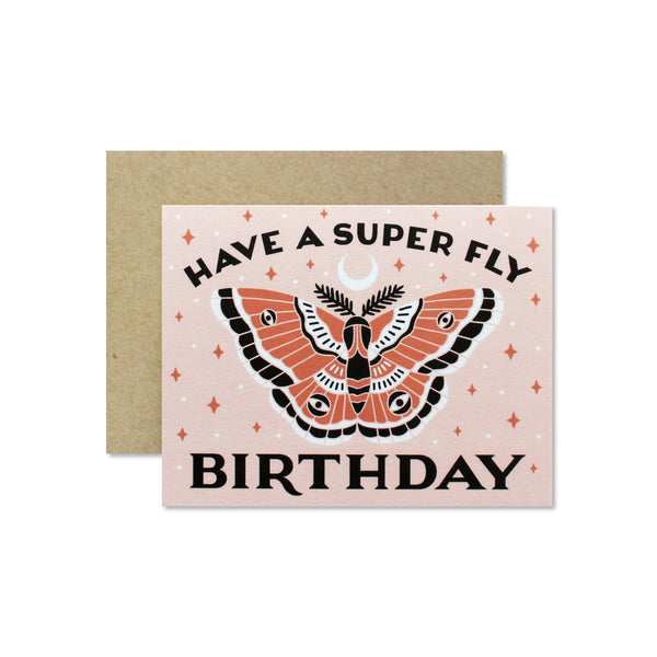 Super Fly Birthday Card