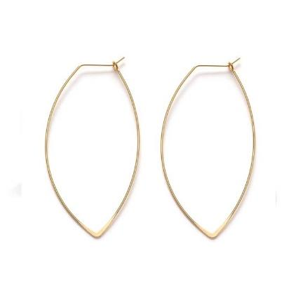 Amano Studio: Marquis Hoop Earrings
