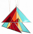 Debbie Bean: Triangle Suncatcher in Modern